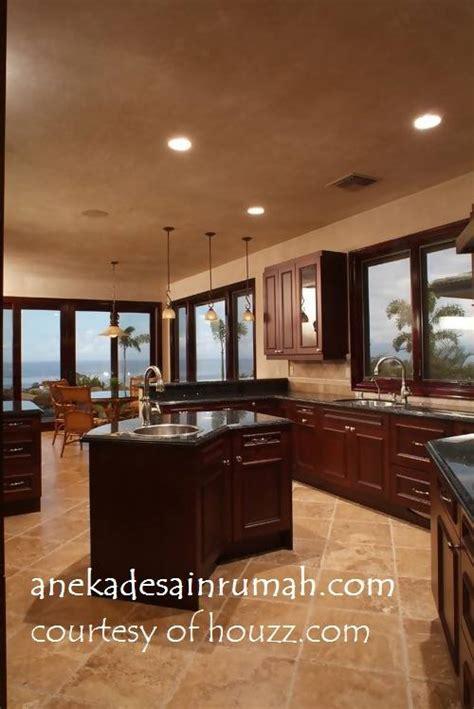gambar desain dapur minimalis rumah  daerah tropis simomot