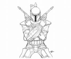 Star Wars Boba Fett Coloring Pages - Coloring Home