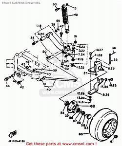 Yamaha Golf Cart Suspension Parts Diagram