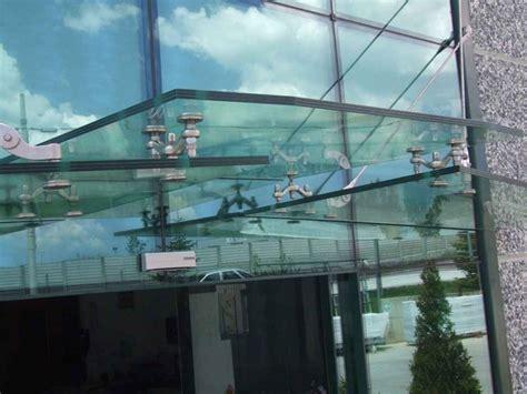 tettoie in vetro e acciaio pensiline acciaio inox pergole e tettoie da giardino