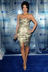 Kim Kardashian in 2011 People's Choice Awards - Arrivals ...