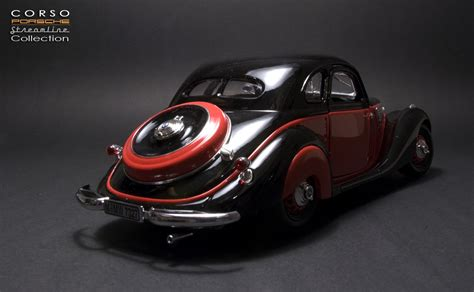 Guiloy 1937 Bmw 32728 Coupe Blackred Dx Classic