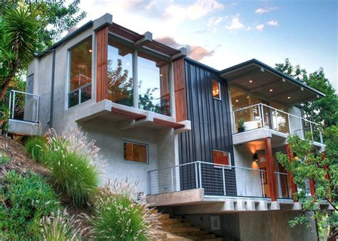 hillside home designs comfortable home design warm and modern diy by michael parks modern house designs