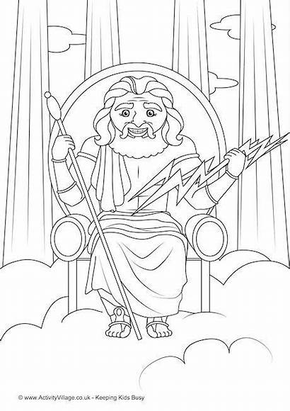 Zeus Colouring Pages Become Member Log Activity