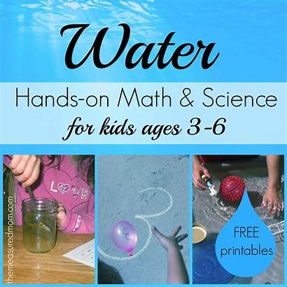Science Activities Water Math Ages Unit Preschool