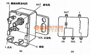 Shape And Internal Wiring Circuit Diagram Of Beijing Cherokee Starter Relay