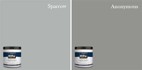 behr sparrow behr anonymous paint  gray pinterest