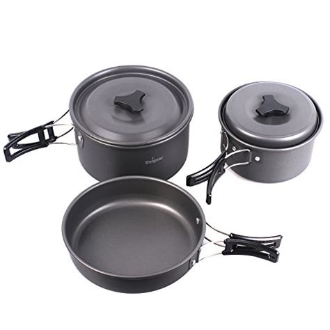 free shipping cing cookware outdoor cooking equipment mess kit backpacking gear hiking