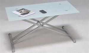 Table Basse Reglable Hauteur : table basse multipositions groupon shopping ~ Carolinahurricanesstore.com Idées de Décoration