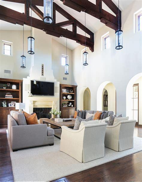 high ceiling living room ideas modern house