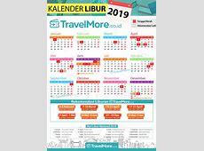 Kalender Libur 2019 #TravelMore