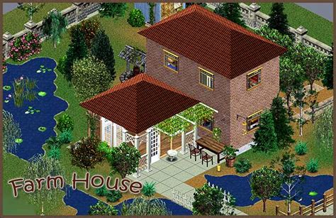 farm house sims   saturnfly sims real estate