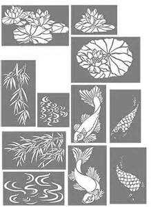 Koi Fish Stencil Printable