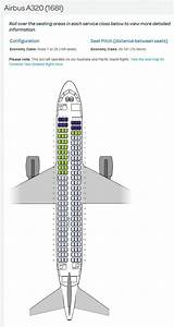 Air New Zealand Airlines Airbus A320 Aircraft Seating Chart