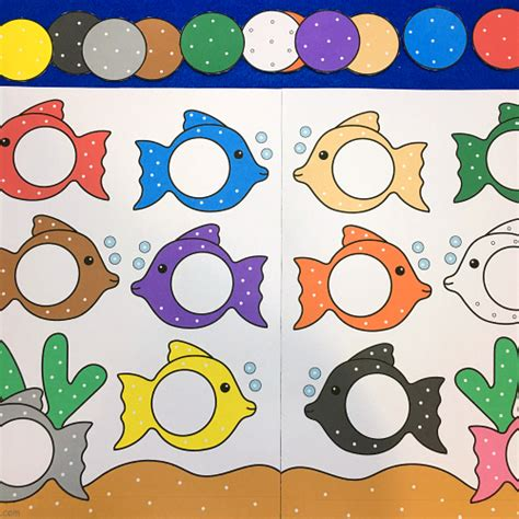 color matching activities for preschool category file folder 941