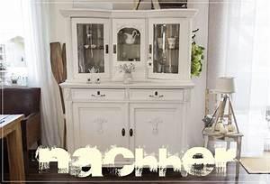 Holzmöbel Streichen Shabby Chic : schrank mit kreidefarbe gestrichen creativlive ~ Bigdaddyawards.com Haus und Dekorationen