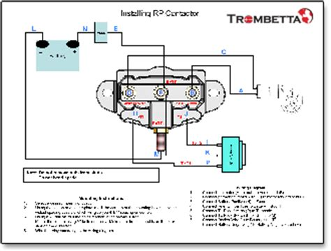 Trombetta Reversing Polarity Contactor Which