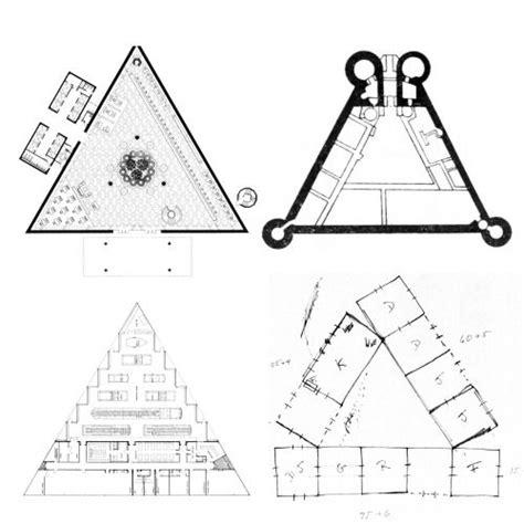 triangle plans  left   gordon bunshaftsom