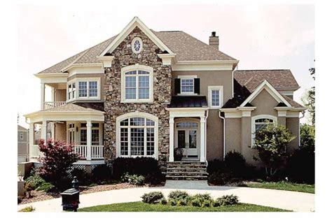 American Houses On Pinterest  Colonial House Plans, 2