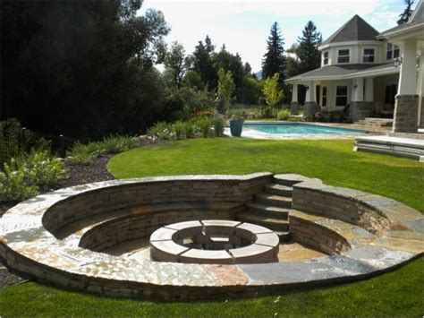 Awesome Backyard Fire Pits Best Outdoor Ideas On Firepit