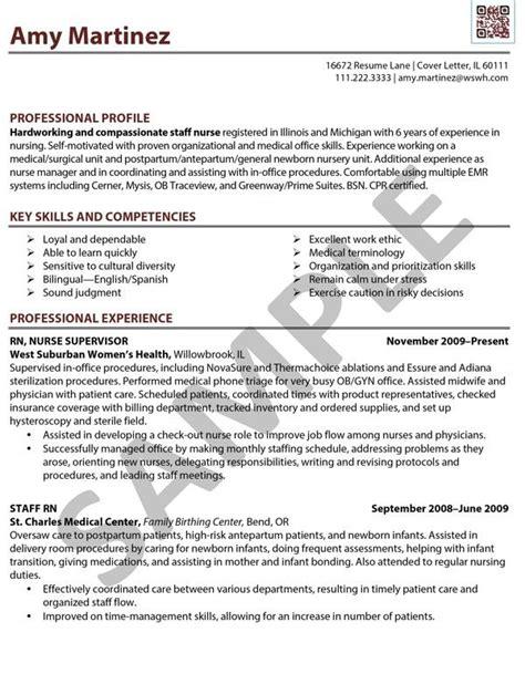 sample resume rn registered nurse   cafe edit