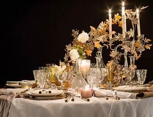 Table De Fete Decoration Noel : une table de f te tr s nature femme actuelle ~ Zukunftsfamilie.com Idées de Décoration
