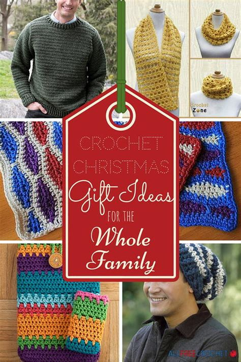 christmas gifts for large families 25 crochet gift ideas for the whole family allfreecrochet
