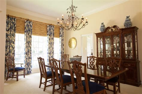 british colonial traditional dining room houston  creative touch interiors