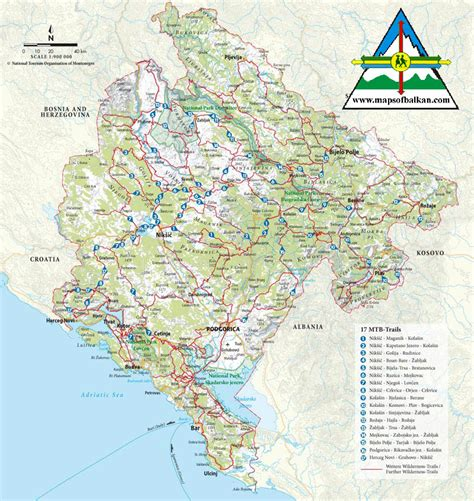 Interactive map online, to help navigate the city, whether you're walking, biking, driving or taking the train. Montenegro Bergen Karte