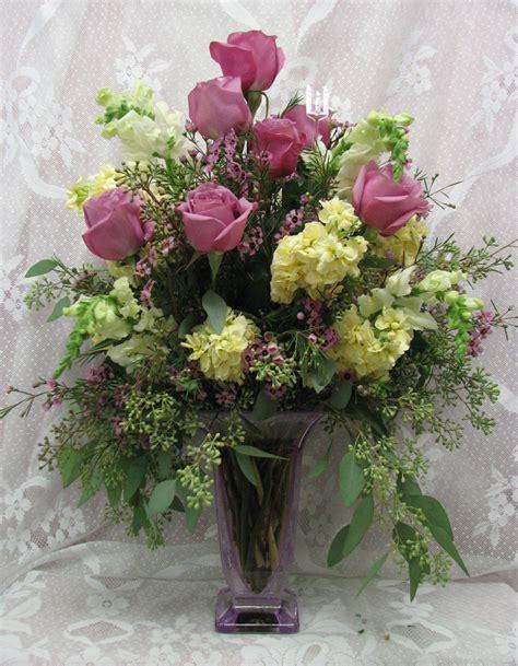 anniversary flowers church floral arrangements pinterest