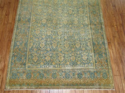 rugs shabby chic shabby chic antique persian tabriz rug for sale at 1stdibs