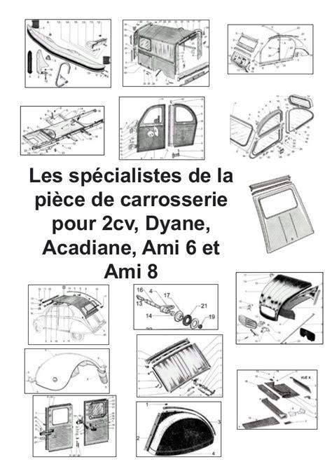 siege mehari catalogue special carrosserie 2cv dyane acadiane ami 6 ami