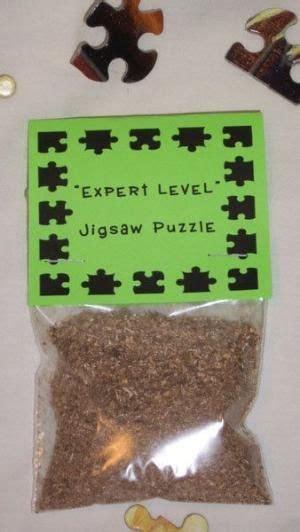 gag gift expert level jigsaw puzzle novelty  guadalupe