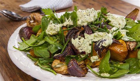 Roasted Root Vegetable Salad  Good Chef Bad Chef