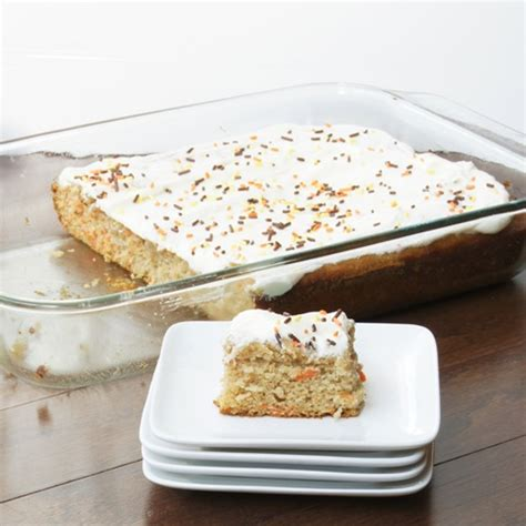 carrot snack cake lighter carrot snack cake with cream cheese icing