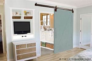 MONDAY MAKEOVER - INSTALLING A BARN DOOR and SUZANNES NEW