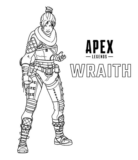 wraith apex legends coloring play  coloring game