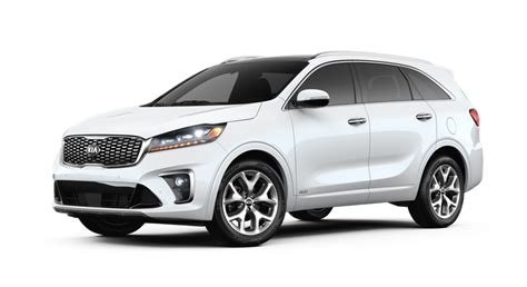 kia sorento exterior  interior color options