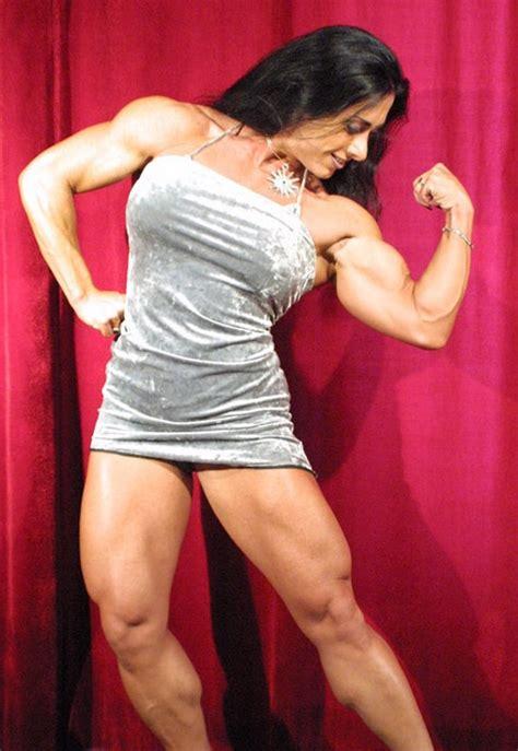 muscular womens dressed monica martin