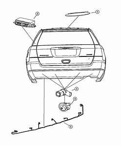 Chrysler Pacifica Module  Parking Assist   Xaa  Xzz    Xaa