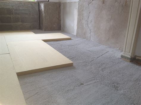 l isolation phonique du plancher ou du sol