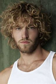 Men with Curly Blonde Hair