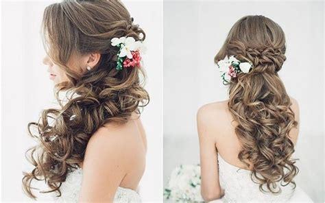 Wedding Hairstyles Down : 20 Creative Half Up Half Down Wedding Hairstyles