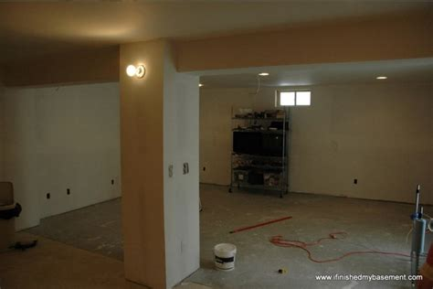 bathroom paint ideas installing drywall for your finished basement contractor