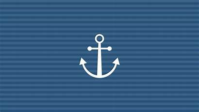 Anchor Wallpapers Backgrounds Desktop Girly Computer Nautical