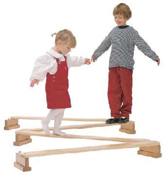 playground equipment for daycare preschool and school 940 | 4pc balance beams