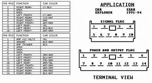 1998 Ford Contour Radio Wiring Diagram