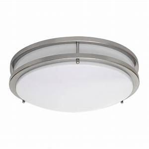 Amax lighting led ceiling fixtures led jr00 led two ring for Flush mounted led ceiling lights