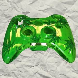 New Xbox Games: =>> Green 420 XBOX 360 Controller Shell ...