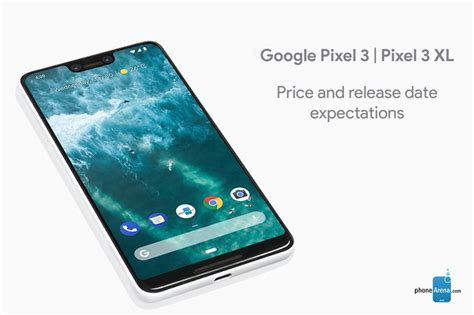 pixel 3 and pixel 3 xl price and release date